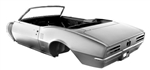 1967 Firebird Assembled Convertible Body Shell