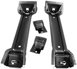 1970-1973 Trunk Floor Gas Fuel Tank Braces Brackets, Pair