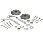 Hotchkis Quick Release Billet Hood Pin Safety Kit