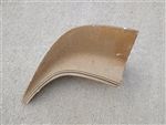 1970 - 1978 Firebird and Trans Am Rear Spoiler LH Corner End Piece, Original GM Used