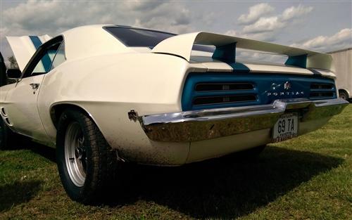 1969 firebird trans am rear spoiler