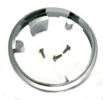 1967 Firebird Wood Steering Sport Wheel Hub Collar Ring ( Chrome Plated Pot Metal )