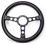 1969 - 1981 Firebird Trans Am Formula Steering Wheel Early Large Grip, Black with Black Spokes