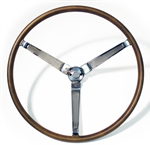 1967 Firebird Deluxe Wood Steering Wheel, Wheel Only