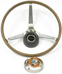 1969 Firebird Deluxe Wood Sport Steering Wheel Kit