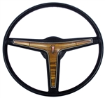 1969 - 1976 Firebird Deluxe Style with Woodgrain Steering Wheel Original GM Used