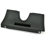 New BLACK 70 - 81 Firebird or Trans Am Under Dash Lower Steering Column Cover for AC Models