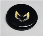 1970 - 1981 Firebird And Trans Am Formula Steering Wheel Horn Button Insert, Correct Factory Style Lucite with Locating Tab! Gold