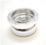 Steering Wheel 9 Hole Billet Hub Adapter GM Column, 1969 and Up Style