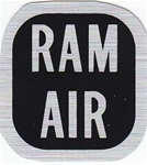 1969 Ram Air - Dash Push / Pull Cable Bracket Decal