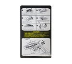 1979 - 1980 Firebird Trunk Jacking Instructions Decal, 10008685