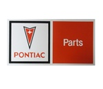 Pontiac Parts Arrowhead Decal