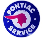 Pontiac Service Decal