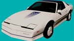 1984 Trans Am 15th Anniversary Decal Kit