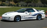 1999 Trans Am 30th Anniversary Pace Car Decal Kit, Doors and Feathers