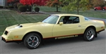 1976 - 1978 Firebird Formula Decal Kit, Two Tone Vehicle