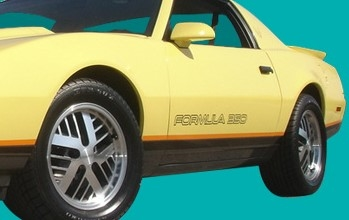 1987 1988 Firebird Formula Lower Body Stripe Decal Kit