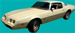 1980 - 1981 Yellow Bird Firebird Esprit Stripe Decal Kit