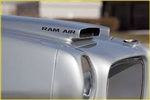 Ram Air Hood Scoop Decals