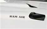 Firebird Ram Air Hood Scoop Decals, Pair