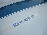 "1969-1970 Trans Am Hood Scoop Decal "" Ram Air IV "" - Each"