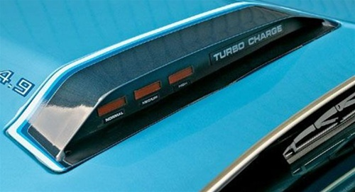 1980 - 1981 Trans Am or Formula Hood Scoop Turbo Charge Decal