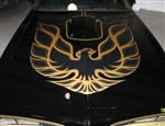 1976 - 1978 Trans Am German Style SE Hood Bird Decal Only