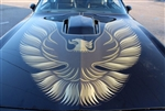 1979 - 1980 Firebird Trans Am Hood Bird Only