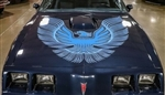 1981 Trans Am Hood Bird Decal Only, Two Color for Non Turbo Engines