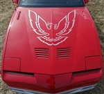 1985 - 1987 Trans Am Hood Bird Only, 38 Inch X 41 Inch