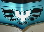 1970 - 1972 Firebird Trans Am Front Bumper Nose Bird Decal