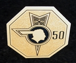 1976 50th Anniversary Medallion Fender Decal