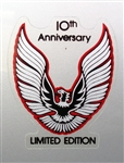 "1979 Fender Decal Logo, ""10th Anniversary"""