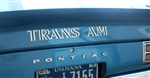 "1969 - 1972 "" Trans Am "" Rear Spoiler Decal, 493363"