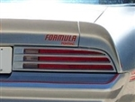 1976  Firebird Formula Pontiac Rear Spoiler Decal