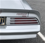 1977 - 1978 Firebird Formula Pontiac Rear Spoiler Name Decal