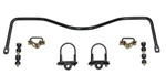 1967 - 1969 Firebird Heavy Duty REAR Sway Bar Kit, 3/4 Inch Diameter