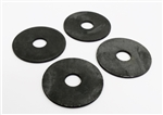 1967 - 1981 Subframe Body Mount Bushing Washer Set Correct OE Style, 4 PCS ( WASHERS ONLY )