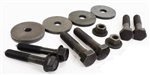 1970 - 1975 Firebird Subframe Body Bushing Mounting Hardware and Bolts, Correct OE Style
