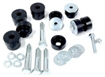 1967 - 1969 Firebird Solid Billet Aluminum Interloc Body Bushings Set, Stock Height