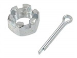 Firebird Upper Ball Joint and Idler Arm Castle Nut, Each