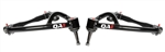 1967 - 1969 Firebird QA1 Tubular Upper Control Arms, Pair