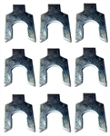 "Pontiac Front End Alignment Shims 1/32"" - Set of 9"