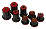 1967 - 1969 Firebird Complete UPPER and LOWER Polyurethane Control A-Arm Bushings Set, 8 Pieces
