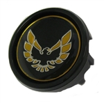 1970 - 1981 Automatic Shifter Knob Button, Gold and Black