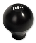 "Custom Billet Aluminum Shifter Knob w/ ""DSE"" Logo, 3/8"" Thread"