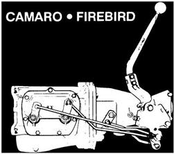 1967 - 1968 Firebird Hurst Shifter Linkage Install Kit for Muncie  Transmission