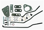 1974 - 1981 Firebird Four Speed Shifter Linkage Install Kit for Borg Warner Transmission