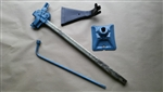1979 - 1981 Trunk Bumper Jack Mast Assembly Kit, Original GM Used