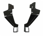1967-1969 Package Tray Metal & Trunk Lid Hinge Mounting Braces